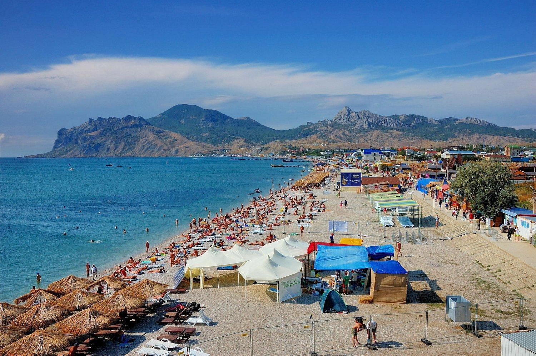 Отдых в Крыму: поселок Коктебель