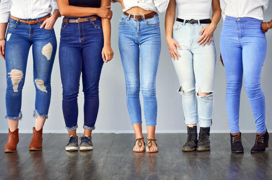 Как выбрать женские джинсы по телосложению?